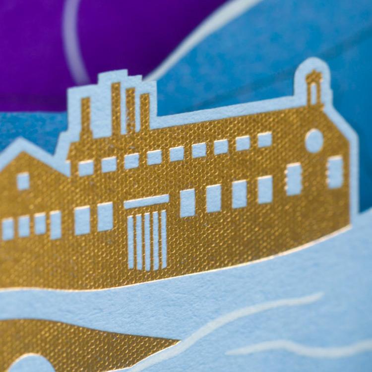 Plain Creative Project - James Cropper Christmas Cards detail