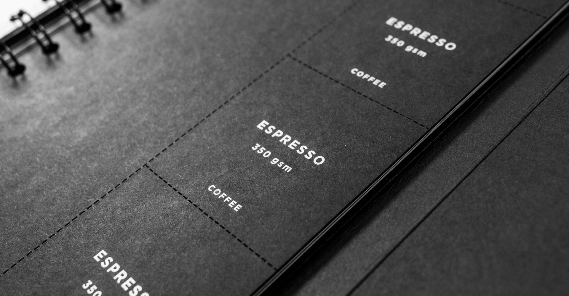 Plain Creative Project - Black Swatch Book - 7