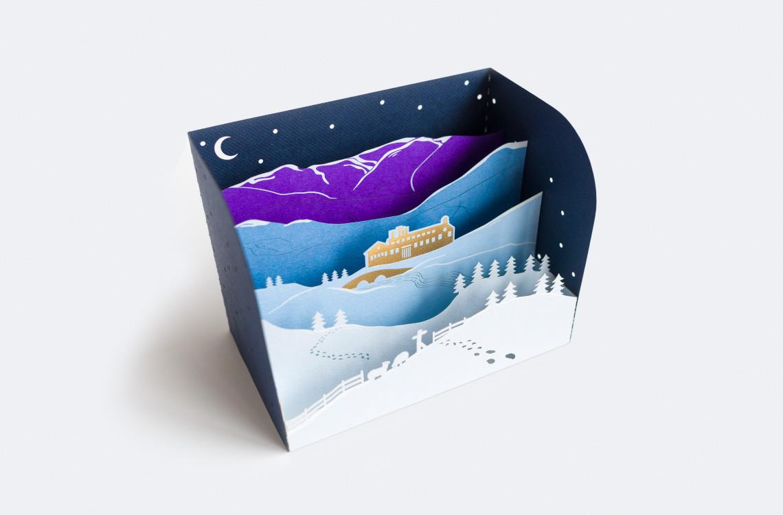 Plain Creative Project - James Cropper Christmas Cards - 11