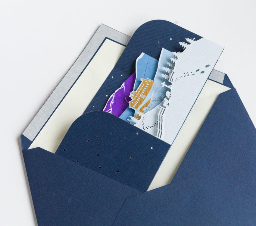 Plain Creative Project - James Cropper Christmas Cards - 3