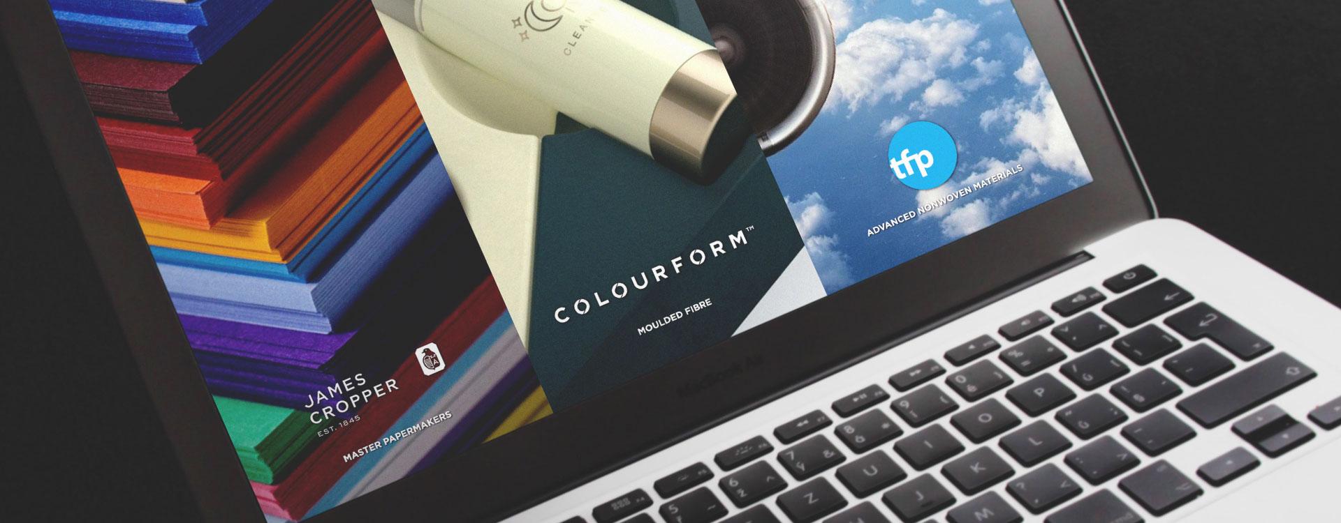 Plain Creative Project - James Cropper PLC Website 1