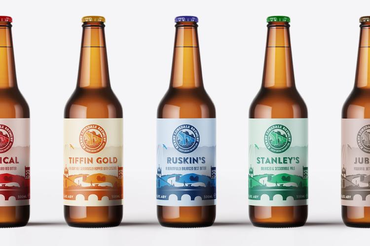 Kirkby Lonsdale Brewery Core Range Bottles