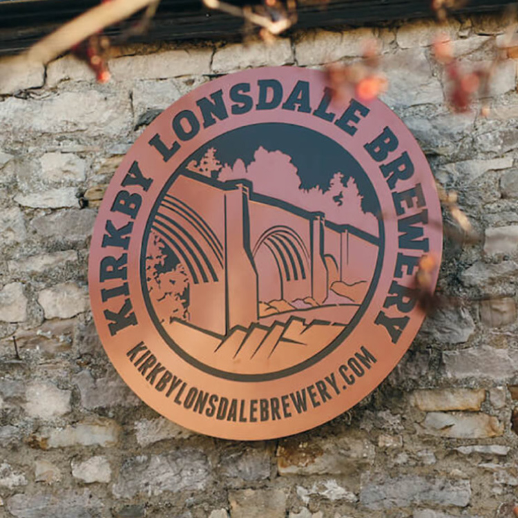 Plain Creative Kirby Lonsdale Brewery sign