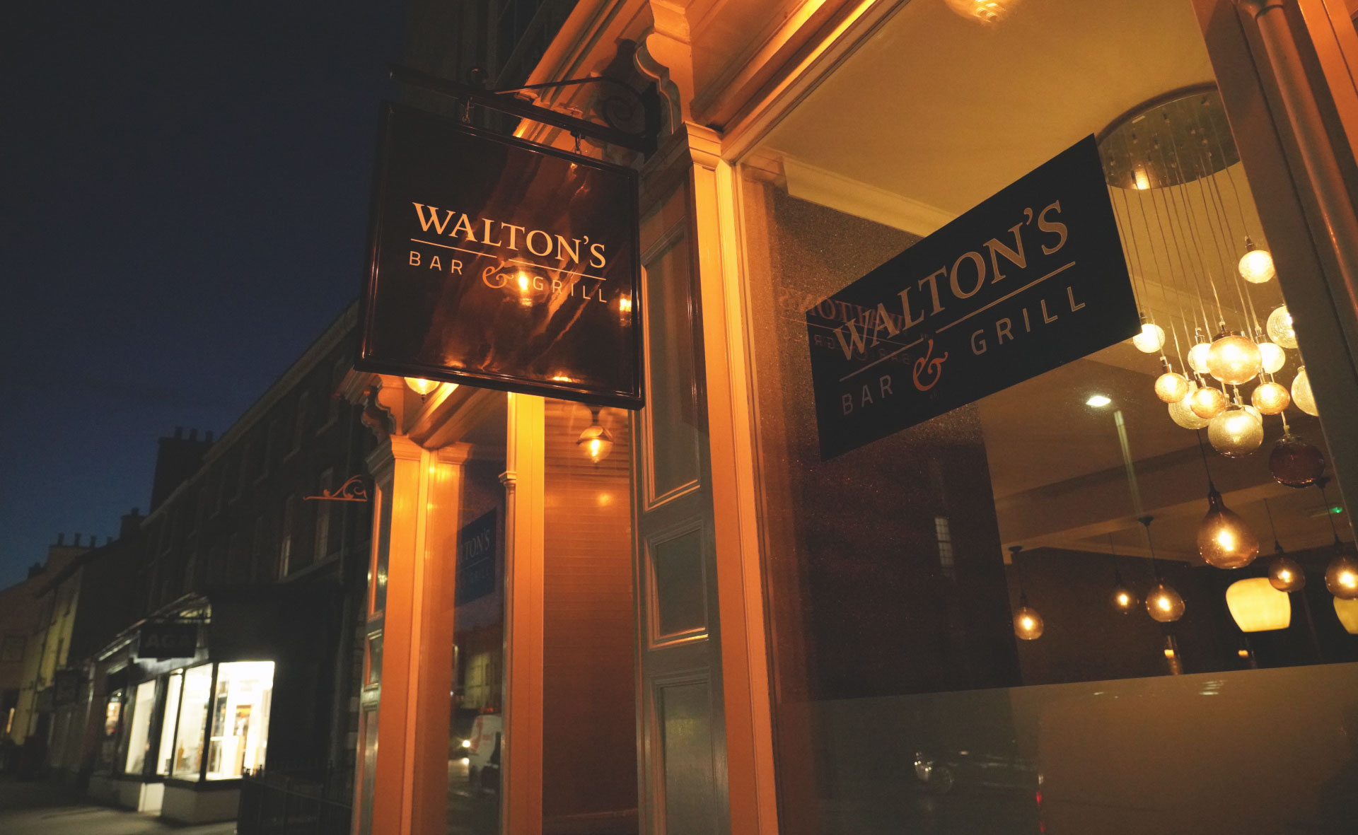 Plain Creative Project Waltons Bar and Grill - outside the restaurant photo