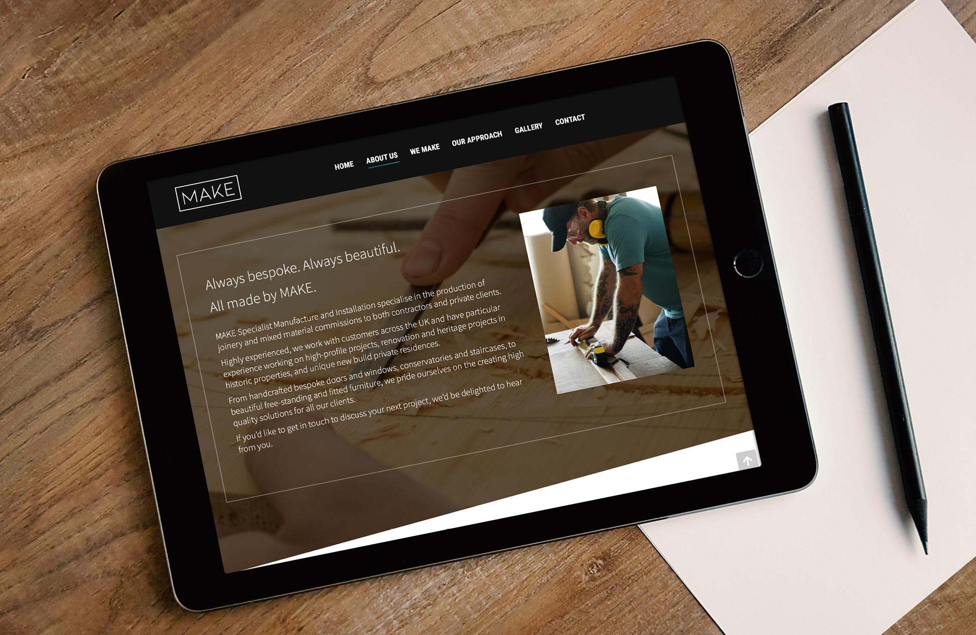 Plain-Creative-MAKE-joinery-website