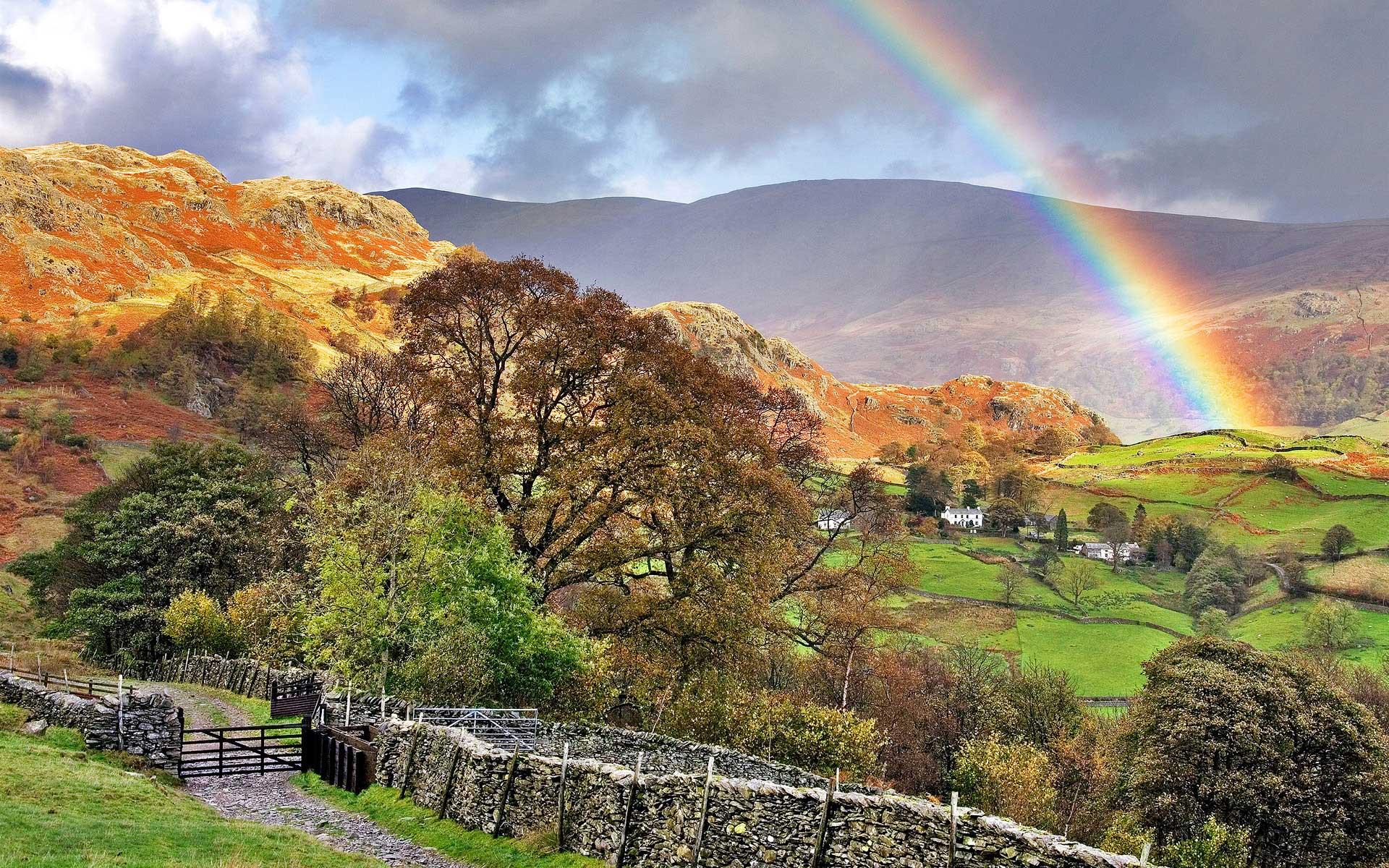 Milne Moser Solicitors - Rainbow Over Kentmere Jon Allison