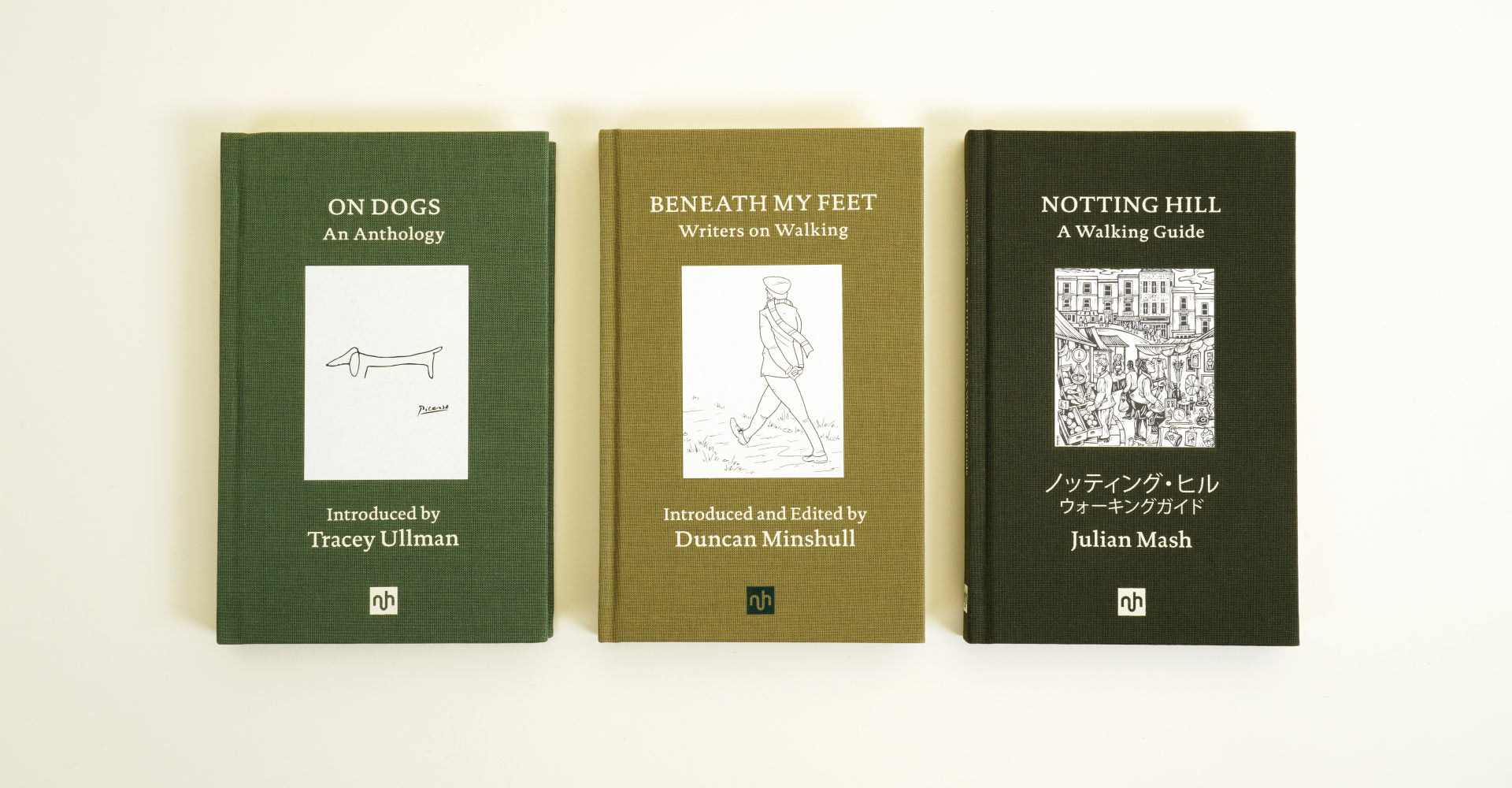 Notting Hill Editions illustrated covers