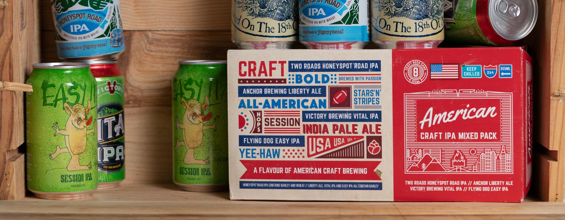 James Clay American Craft IPA product photography