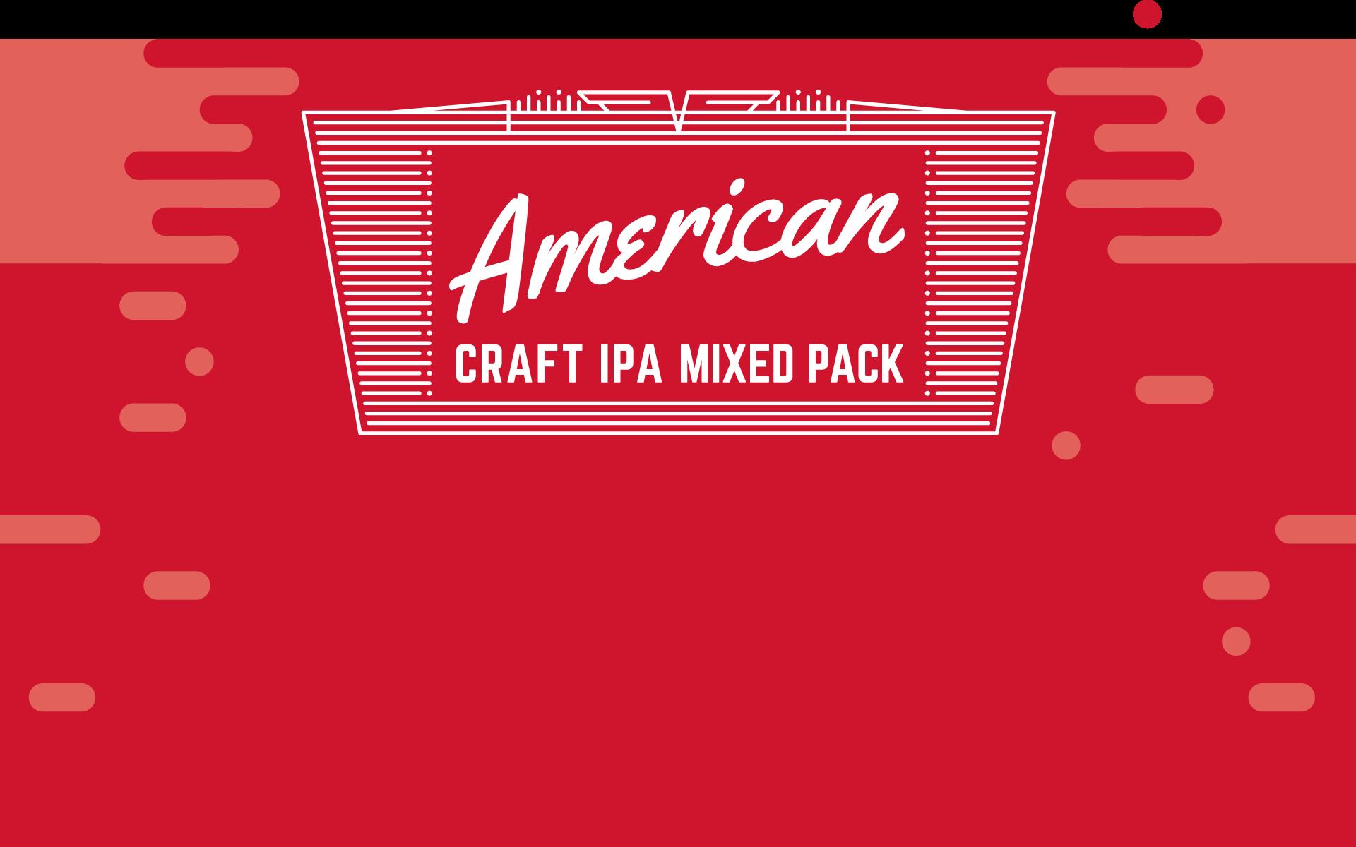 James Clay American Craft IPA Illustration